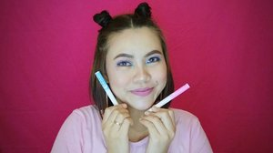 Pastel color + glitter = perfectionI'm using @absolutenewyork_id cotton candy liner 😍#ANYxClozetteIDReview#absolutenewyorkid#makeupunited#clozetteid #clozetteidreview