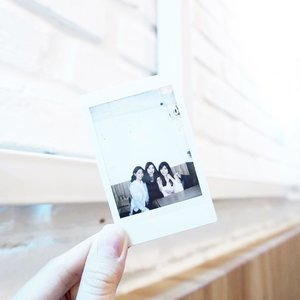Creating memories with them is always fun and thrilling ( and too sentimental sometimes 😆 ) - #sisterhood #bestfriends #polaroid #portrait #ClozetteID