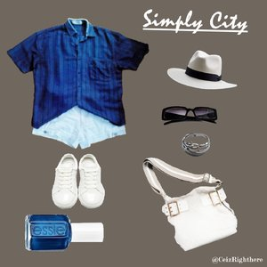 My Simply City Style ^^.  #ootd #ClozetteID #simplycitystyle #summerstyle #CIDstreetstyle IG @ceizrighthere