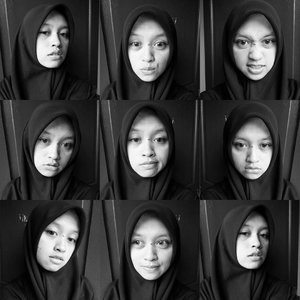 Nite everyone👻👻 #bw #blackandwhite #hijab #hijabi #layout #instagram #filter #igers #igaddict #expression #moreexpression #clozetteid #nzrrni