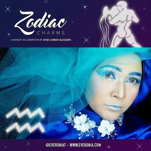 This is my makeup for zodiac makeup collaboration with @atomcarbonblogger . I'm the Aquarius.  #makeupbyedelyne  #hijabbyedelyne  #makeupfantasy #makeupartistsworldwide  #makeupartistindonesia  #wakeupandmakeup  #riasmuslimah  #makeupcollaboration  #mua #makeupmommy #indonesiabeautyblogger  #emak2blogger  #starclozetter  #clozetteid  #makeup #amazingmakeupartist
