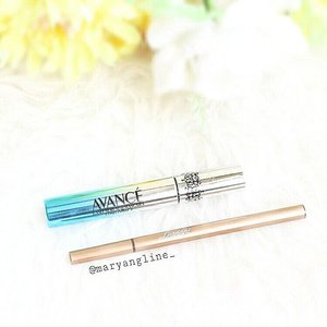 So, here's some mini review about Leanani Premium Waterproof Eyeliner & Avance Lash In Serum Mascara Long Impact (both of them are Japanese brands) - Let's talk about the eyeliner first. What I love are, the packaging is really sleek and thin. Also, it's water-based formula! So it's really smooth and gentle on your skin. Ssttt ... even @mirandakerr love this eyeliner (yes she is!). - For the mascara, it's really great because has some lash serum in it, and it's not clumpy at all. Full both of the products will update soon 💞 . . #clozetteid #potd #cute #beautyblogger #style #instagood #flatlay #photooftheday #makeupjunkie #makeup #vscocam #vsco #vscogood #l4l #like4like #beauty #beautyaddict #makeupflatlay #beautybloggerid  #indonesianbeautyblogger #fdbeauty #makeupaddict #makeupjunkie #bloggerperempuan #femaledaily