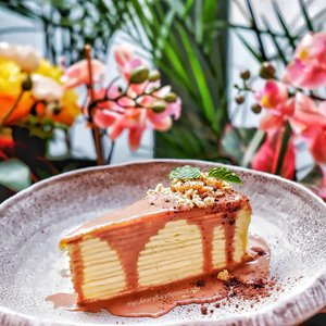 Milo Crepe Cake from @thegarden_id The cake is soft and not too sweet. My kind of favorite cake 😋.Check out myculinarydiarycom.wordpress.com for more awesome post! Link is on my bio and my Zomato/Jessica Sisy or Pergikuliner/Jessica Sisy for more food reviews#myculinarydiary #sisyeatingdiary #layercake #cakedecorating........#foodoftheday #jktfoodies #foodphotography #instabuzz #photooftheday #beautifulcuisines #foodstagram #foodgasm #foodnetwork #discoverymeal #appetitejournal #eatfamous #flatlay #foodoftheday #dessert #kulinerjakarta #followme #foodstylist #milo #eatfreedayid #kulineraddict #eeeeats