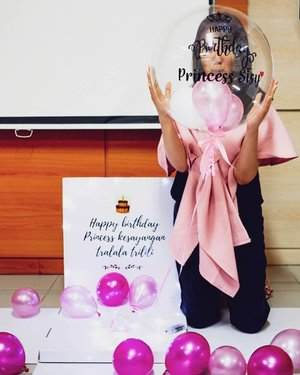 BIRTHDAY PARTY PART 2Thanks to incess @yvonne_oktaviany and @ballooney.id for making my birthday become wonderful 😘😘😘😘Balonnya super unyu and so me 💕💕Thank youuu all 😄.Check out myculinarydiary.com for more awesome post#birthday #balloon #balonhelium #balonultah #pink #pinkvibes.......#ootd #photooftheday #beautifuldestinations #tbt #lookbook #lotd #wiwt #asian #fblogger #outfitoftheday #monochrome #followme #minimalist #wiwtindo #instadaily #minimalism  #postthepeople  #interior #design #decor #architexture #clozetteid