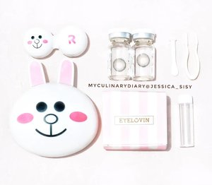 Cony and the softlens 🐰..Check out myculinarydiarycom.wordpress.com for more awesome post#sisytravelingdiary #softlens .......#clozetteid#cosmetic#beauty#skincare#makeup#makeupartistjakarta#mua#eyelashextention#weddingku#bridestory#likeforlike#tagsforlike#makeupcourse#lipstick#ysl#mac#etude#potd#instabuzz#asian#korea#koreanmakeup#followme#vsco#vscocam#selfie#vscogood#vscofeature