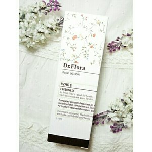 Just post a review on my blog about this beautiful product from Dr. Flora that I got from Charis🌼🌼🌼 #skincare #koreanskincare #koreanbeauty http://eriscahardja.blogspot.co.id/2016/10/dr-flora-white-floral-lotion.html