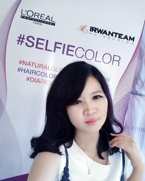 After treatment #SelfieColor at @pointcutsalonjakarta by @irwanteamhairdesign 💜  Really love my new haircolor!  A new article about my new haircolor with #SelfieColor is now up on my blog. Kindly visit www.amandadesty.com #amandadestycom  #ClozetteID #ClozetteIDReview #IrwanTeamxClozetteIDReview #IrwanTeamReview #SelfieColor #LorealProID
