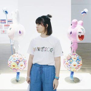 Wrote about my visit to @museummacan last weekend on #bigdreamerblog 🤗 Click click link in bio to read~ . . . #clozetteid #fashionblogger #lifestyleblogger #takashimurakami #museummacan #flowerball #murakamitakashi #jakarta