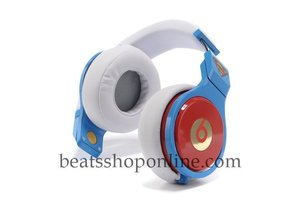Cheap Monster Beats Pro Studio Over Ear Headphones Blue and White