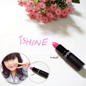 🌞✨ Happy SUNdae everyone!! Suka banget sama warna Fantasy Pink from iSHINE ini.. Awalnya bakal ngira warna Pink nya Jupe, ternyata malah lebih natural 😍💄💋 ..Read the full review on 👉 http://www.beautyasti1.com/2015/12/ishine-01-fantasy-pink-lipstick-review.html ❤️❤️❤️ .. #clozetteid #flatlay #pink #potd #picoftheday #photooftheday #ishine #lips #lipstick #love #likes #follow #friday #happy #weekend #holiday #cnf #perfumery #fantasypink #new #tbt #latepost #beauty #makeup #lips #lipstick #instabeauty #instagood #instadaily