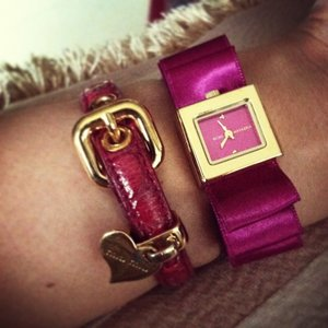 Sunday match.. Worn out #miumiu + #bcbg watch #armcandy #armparty