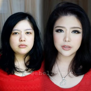 Before after @shirleylumielle  Makeup by @shelleymuc @shelleyssebastian  #makeup #beauty #shelleymuc #surabaya #makeupartist #mua #shelleymakeupcreation #beforeafter #clozetteID #makeover #muasurabaya #muaindonesia #hairdo #soft #softmakeup #beautifulgirl #softsmokey #glammakeup #glamourmakeup #makeupartistsurabaya #surabayamakeupartist #correctivemakeup #monolid #monolidmakeup #bride #bridal #bridalmakeup #weddingmakeup #engagementmakeup