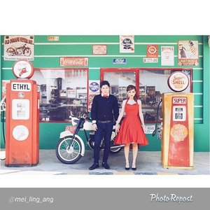 "Selamat Prewedding makeup and HairDo for @mei_ling_ang  Makeup&Hair by @shelleymuc  By @mei_ling_ang ""I love you not only for what you are, but for what I am when I am with you  #prewedding #pinup #eastofedenphotowork #vintage #50s #60 #vintageprewedding #Gasstation #cocacola #redandblack #fmprewedding  Captured by @eastofedenphotowork Makeup by @shelleymuc  Dress by @mai.design"" via @PhotoRepost_app #makeup #makeover #beauty #shelleymuc #surabaya #makeupartist #mua #shelleymakeupcreation #beforeafter #clozetteID #makeover #muasurabaya #muaindonesia #hairdo #vintage #vintageprewedding #vintagemakeup #vintagehairdo #prewedding #preweddingmakeup"