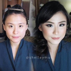 Soft Makeup for @louisesidharta  Makeup by @shelleymuc @shelleyssebastian  HairDo by @yani_hairdo  #makeup #beauty #shelleymuc #surabaya #makeupartist #mua #shelleymakeupcreation #beforeafter #clozetteID #makeover #muasurabaya #muaindonesia #hairdo #soft #softmakeup #beautifulgirl #softsmokey #glammakeup #glamourmakeup #makeupartistsurabaya #surabayamakeupartist #correctivemakeup