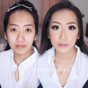 Makeup for @monicalie1506 's family photoshoot  Makeup by @shelleymuc @shelleyssebastian  #makeup #beauty #shelleymuc #surabaya #makeupartist #mua #shelleymakeupcreation #beforeafter #clozetteID #makeover #muasurabaya #muaindonesia #hairdo #soft #softmakeup #beautifulgirl #softsmokey #glammakeup #glamourmakeup #makeupartistsurabaya #surabayamakeupartist #correctivemakeup #monolid #monolidmakeup