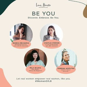 Join @lovebonitoid Managing Director @biancabelnadia, along with 3 inspirational women, @cissylia from @gojekindonesia, @milawijaya from @utterlymemagazine and our woman crush who's also a breast cancer survivor @febrinaadiputra as we celebrate Kartini, share our stories, motivations and creations together.Let's find your true potential through discovering, embracing and being yourselves. Entrance fee is Rp 150.000 includes @lovebonitoid shopping voucher, @shuuemura goodie bag worth 415k and private dinner with our speakers.RSVP now - https://beyou.paperform.coSupported by@shuuemura @nomzjakarta @utterlymemagazine @fleuricadesigns @rinku.id @goglamindonesia••••••••••#ootd #clozetteid #clozetteco #ootdshare #aboutalook #ootdindo #lookbook #instastyle #stylista #outfitshare #outfitinspo #outfitoftheday #whatiwore #whatiweartoday #fashioncoordinate #vsco #mommyandme #momstyle #mommyblogger #momfashion #fashionkids_and_moms #todayimwearing #fashionpost #styleoftheday #ilovefashion #hypebeast #ファッション #스타일 #コーデ #bloggerlife