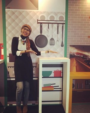 Glad to be part of grand launching @myxl #XLhome today. Now you can easily find any tempting recipes online while cooking at your kitchen.  Or just share any photos and videos of your meals. . B/W top by @adorableprojects . #clozetteid #ootd #hotd #lifestyle #hijabi #hijabstyle #instagood #instaxlent #XLatHome #kitchen #instafashion #fashion #fashionist #adorableootd