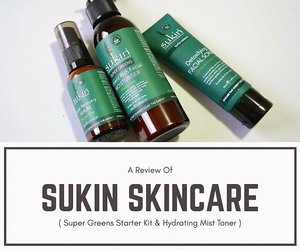 [#blogged] | Been trying up these natural skincare brand from Australia : Sukin Super Greens Starter Kit & hydrating Mist Toner Review is up on zé blog ! 🍃 . 🌿Link on bio or Read the review here (copy-paste link to your internet browser) : >> http://bit.do/Sukin . . . . . . . #ontheblog #bbloggers #bloggerlife #skincareblogger #sukinskincare #gowiththeglow #beautyblogger #skinadvice #beautyenthusiast #clozetteid
