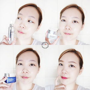Click link on my bio ❤️ As I've mentioned before, I love this white perfect clinical series from L'oreal It makes my skin moist, plump and brighter at the same time . White perfect clinical series: • Essence: really light but moist texture, smells good and easily absorbed • Day cream: my fave. With spf and pink color which makes my skin brighter and great as makeup base • Night cream: very moisturizing. Just put on a bit and my skin is still bright the next morning . Beautiful skin starts from now! I didn't use any foundation on the photo btw. Just day cream and loose powder. My fave things to grab 😜 . #jclianiblog #getthelookid #myperfectglow #loreal #whiteperfectclinical @getthelookid @bloggerperempuan #beautyblogger #beauty #clozetteid #blogger #lorealparisid