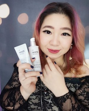 A skin brighthener bundle up pack from @thefaceshopid called White Seed Real Whitening Essence & Tone -Up Cream that works well and smells so good too.http://whileyouonearth.blogspot.co.id/2017/11/the-face-shop-white-seed-real-whitening.html?m=1#whitening #whiteseed #brightening #thefaceshop #koreanskincare #beautyblogger #review #motd #lotd #beauty #ootd #love #clozetteid #beautybloggerindonesia #bblogger