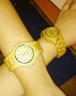 Me and my girl.  #watch #Clozetteid #jord #style #woodwatch #fashion #blogger
