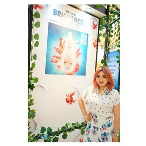 Me with  @thebodyshopindo  #MySkinDefence by #TheBodyShop  #clozetteid #beautyblogger #brightening #sunscreen #sunprotection #event #launch #skincare