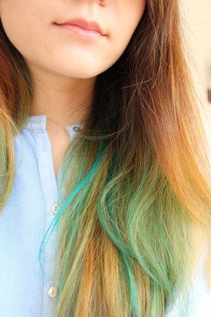 Manic Panic hair dye #AtomicTurquoise