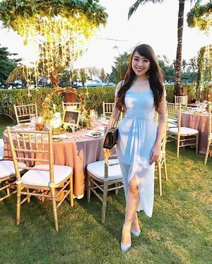 Throwback Thursday ❤️ #ootd #ootdindo #lookbook #lookbooklookbook #lookbookindonesia #lookbookbkk #outfitoftheday #clozetteid #bali #baliwedding #baliweddings #villashalimar #blue #clozetteid #travelogue #igtravel #igtraveller #doublewoot #doublewootootd