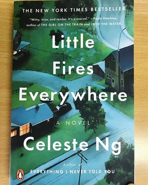 "Reading Material 📘📘📘 ""Little Fires Everywhere"" have you read it ? this book named a best book of the year in fiction categories by Goodreads in 2017, so excited 💙💙 #book #bookworm #novel #littlefireseverywhere #celesteng #bookstagram #bookoftheday #clozetteid #clozetteambassador #instagram #instadaily"