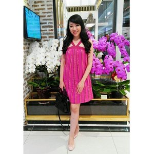I found a beautiful orchid shop in Aeon Mall yesterday... i didn't think twice to take a picture in front of the shop... btw Pink is the dresscode and surprisingly.. it matches with the background so much!#styleoftheday #styleblog #styleblogger #styles #stylenanda #fashionblog #fashionista #fashionblogger #fashionstyle #fashion #orchid #pinklovers #pink #clozette #clozetteid #femaledaily #fdbeauty