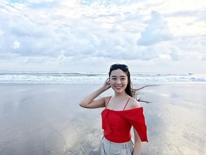 Good morning ❤️ #beach #scenery #travel #travelling #traveller #bali #seminyak #whotel #instagood #instadaily #holiday #clozetteid #sayaLB
