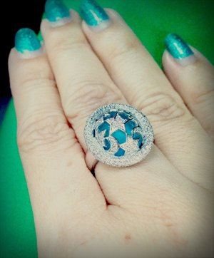 my antique moon & stars ring *heart*