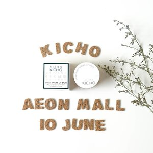 Tomorrow at @aeonmallbsdcity the very first store of Kicho Indonesia And I would love to recommend this lip balm it's really moisturize without thick formula and there is a mint scents so it will be refresh your lips! For tomorrow ONLY you can get 50% off and also a lot of promo Be there! Coz I will be there too ♡ . . . . #aeonkichograndopening #kichoindonesia #grandopening #tomorrow #lynekbeauty #lynebeauty #wonderfullyn #clozetteid #lipbalm