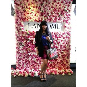 #throwbacksaturday last week from @lancomeid Blanc Expert Cushion Compact Launching event 🌹 #lancomecushionista #lancomeindonesia #cushiononthego #lancôme #lancomeid #beautyblogger #bblogger #ClozetteID #flashback #throwback #beautyevent #beautyenthusiasts #launching