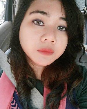 Gray 👀  #selfie #clozetter #clozetteID #clozette #motd #makeupoftheday #ombrelips #ombrehair