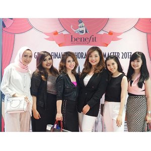 #throwback to last event Grand Finale Sephora Brow Master 2017.. 📷 @gifost244 #SBM2017 #BrowMaster2017 #BrowMasterid #BenefitBrows #BenefitIndonesia #miradamayanti #beautyblogger #brows #bloggers #friendship #girlsquad #Clozetteid