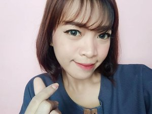 short hair again.. 😅😅😅 #selfie #selca #clozetteid #clozette #beauty #asian #love #makeup #instadaily #instabeauty #faceoftheday #fotd #bblogger #beautyblogger