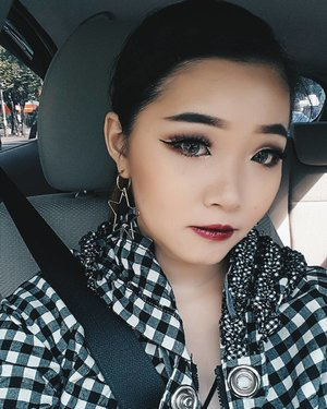 Long time no selfie car right?First time try cut crease and happy with the result...Tutorial? 😉😉..Lashes from @beautelash dramaFor #udindonesia event yesterday..In my lips @urbandecaycosmetics vice lipstick - and forget the name 😂...#bloggerindonesia #lookbookindonesia #beautyguru #beautyvlogger #beautyblogger #clozetteid #bloggerstyle #fashionblogger #fashionstyle #fashionindo #indonesianbeautyblogger #indonesian_blogger #indonesiabeautyblogger #youtubeasia #youtuberindonesia #clozetteambassador #beautyindonesia #indobeautygram#stylehaul #cgstreetstyle #ggreptrend #ggrep