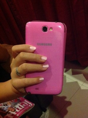 Pinky for today.. ^^ after manicure