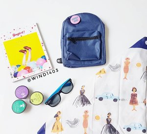 Dont forget to bring your sunglasses and your scarf girls, put them all on mini backpack 😎#ClozetteID #instabeauty #indonesiablogger #indonesiabeautyblogger #bloggerBDG #bloggerlife #bloggerbandung #bloggerindonesia #beautyblog #beautyblogger #beautybloggers #beautybloggerbandung #beautybloggerindonesia #bblogger #bbloggers #bbloggerslife #BloggerPerempuan #like4like #follow4follow #followforfollow #likeforlike #likeforfollow #TribePost #StarClozetter #ClozetteStar