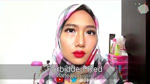 NEW LIP PRODUCTS REVIEW AND SWATCHES! 💄💋👄💁 . Ada video baru di channelku tentang Matte Lip Liquid dan Satin Lip Crayonnya @esqacosmetics loh! Semuanya dapet dari giveaway @clozetteid terima kasih banyaak 👄 full video ada di youtube.com/aidacht atau klik link di bio ya 😘 . . . #aidachtcom #clozetteid #makeup #beauty #blog #makeupinspired #makeupjunckie #l4l #f4f #makeupreview #makeuptutorial #indonesiabeautyblogger #femalebeautyblogger #bloggerperempuan #jakartabeautyblogger #beautybloggerindo #indobeautygram #ivgbeauty #bvlogger #indovidgram @bvlogger.id @indobeautygram @indovidgram