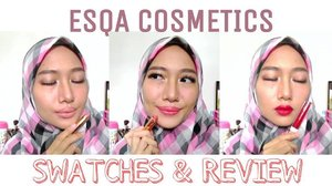 Udah nonton video baruku tentang @esqacosmetics ? Link di bio yaaa 💃🏻👄💄 . . . #aidachtcom #clozetteid #makeup #beauty #blog #makeupinspired #makeupjunckie #l4l #f4f #makeupreview #makeuptutorial #indonesiabeautyblogger #femalebeautyblogger #bloggerperempuan #jakartabeautyblogger #beautybloggerindo #bvlogger #lipcream #lipcrayon #esqacosmetics #lipjunkie #indobeautygram