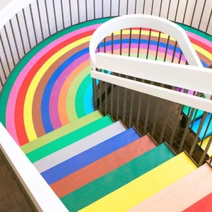 This rainbow stairs at @colorfactoryco tho' 😍 couldn't ask for a more Instagram-able stairs, could I? . . . #chasinglight #abmlifeiscolorful #makeyousmilestyle #colorhunters #colorsplash #makemoment #flashesofdelight #candyminimal #abmsummer #acolorstory #livecolorfully #huntgramcolor #howihue #ihavethisthingwithcolor #colorcolourlovers #huffpostlifestyle #colorventures #clozetteid