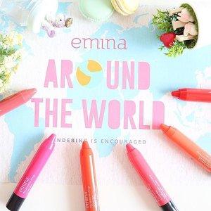 Siapa yang nggak suka sama produk berhaga murah tapi dengan kualitas yang bagus? Nah kenalin nich salah satu produk dalam negri yang harganya bersahabat, kualitas okay dan yang paling penting (buat aku hahahaha...) kemasan yang lucu. Yuk check blog post aku yang terbaru tentang @eminacosmetics My Favourite Things Lip Colour Balm di bit.ly/eminabalm (link is in bio) 💋💋💋 #JeanMilkaDotCom #emina #eminacosmetics #eminaaroundtheworld #aroundtheworld #lipstick #lipbalm #lipcolour #makeup #beauty #makeupjunkie #beautyblogger #indonesianbeautyblogger #blogger #makeupmurah #drugstoremakeup #drugstore #clozetteid