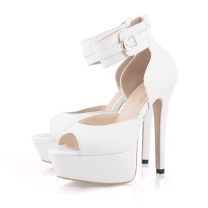 I am looking for new heels or wedges... especially that one with basic color, white or nude. Do you have any recommendations?  What do you think about this one?