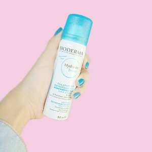 Fight Dehydrated Skin with  @bioderma_indonesia Hydrabio Brume 👍 Read the review http://imaginarymi.blogspot.co.id ❤ #clozetteid #bioderma #skincare #facemist