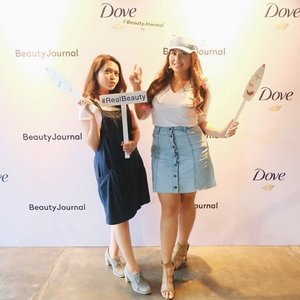 From yesterday event, afternoon Beauty Stories with @beautyjournal x @dove #beautyjournal #beautyjournalxdove #doveidn #realbeauty