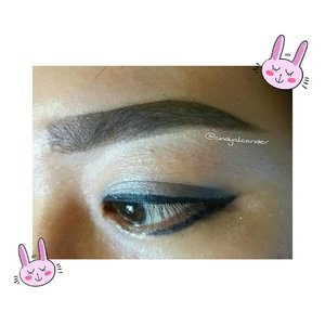 Eye make up which I made today..... I'm just falling in love with this Eyebrow of the day !!! Eyebrow ON POINT 😂 aheuy . . . Perfect 😍 #eyebrowoftheday #eyemakeup ... I'm taking this photo after I remove fake eyelashes 😂 ... I'm using :  Eyebrow cream @qlcosmetic Gel eyeliner @maybelline Eye shadow @smashboxcosmetics Super glitter liner @canmaketokyo @canmakeid  Concealer @makeoverid ... You can find my Review about eyebrow cream : http://alcaalcabelle.blogspot.co.id/2016/06/eyebrow-cream-ql-cosmetics-review.html ... https://www.youtube.com/watch?v=ia7eqSuPPkM ... #clozetteID #alca_girl ------------------ 💌 alca.alca.belle@gmail.com ✏ alcaalcabelle.blogspot.com 💻 https://www.youtube.com/c/CindyAlcander1789