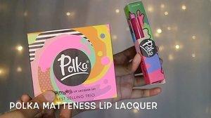 Polka Matteness Lip Lacquer swatches.  @polkacosmetics  Warnanya lucu-lucu tapi yang aku punya belum lengkap semua warnanya. 😞 Polka ini produk lokal loh. Somehow, lipstik yang warnanya nude lebih opaque dibanding yang warnanya pink. 😊 Hope you enjoy it! #clozetteid #starclozetter #polkacosmetic #polkaliplacquer #caaantikbeautyblog #caaantik #indobeautyvlogger #indobeautygram #lipstickswatches #sbybeautyblogger #bblogger