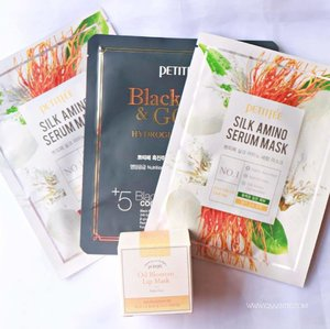 Secret to glowing and hydrate skin on Ramadhan! These sheetmasks and lipmask are my besties. 😍 Thank you! @elsyoungid @petitfee_korea @sbybeautyblogger  Review is up on the blog. Click the link in my bio. 💕 #clozetteid #starclozetter #elsyoung #sbbxelsyoung #els_petitfee #caaantik #caaantikbeautyblog #surabayabeautyblogger #ad